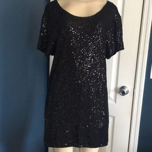 Victoria's Secret little black sequin dress sz S